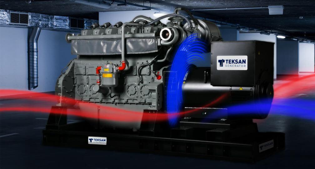 Промышленный дизельный генератор